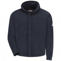 Bulwark FR Modacrylic Fleece Zip Front Hooded Sweatshirt - 8 oz. HRC2