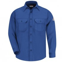 Bulwark FR Nomex IIIA Button Front Uniform Shirt - 6 oz. HRC1