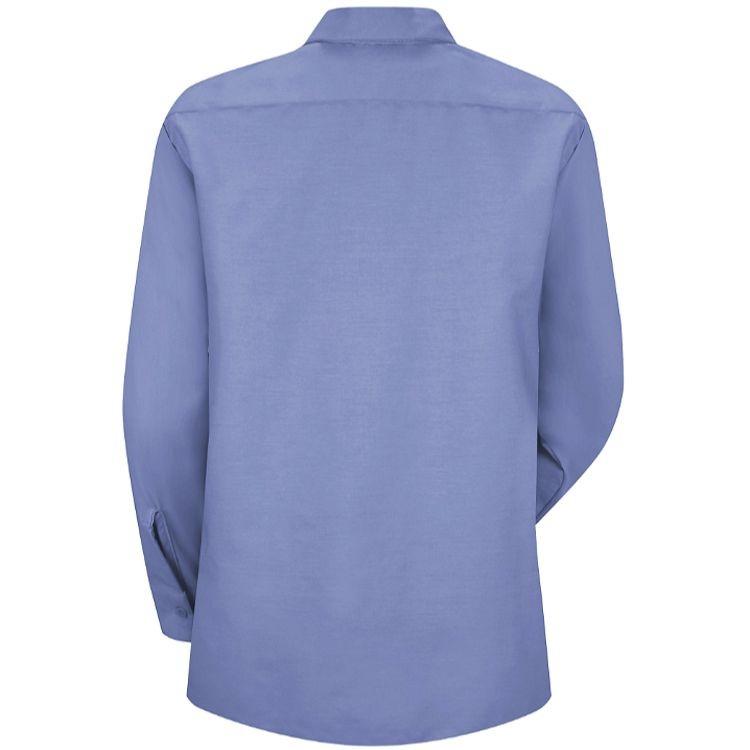 Red Kap Women's Industrial Poplin Long Sleeve Work Shirt