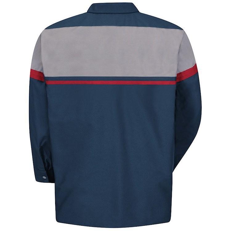 Red Kap Men's Performance Long Sleeve Tech Shirt