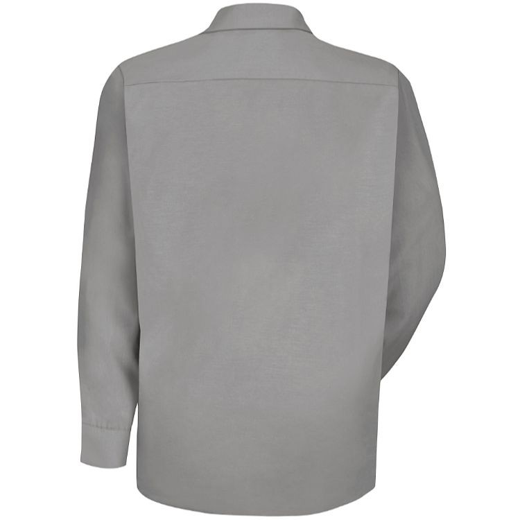 Red Kap Men's Specialized Pocketless Long Sleeve Work Shirt