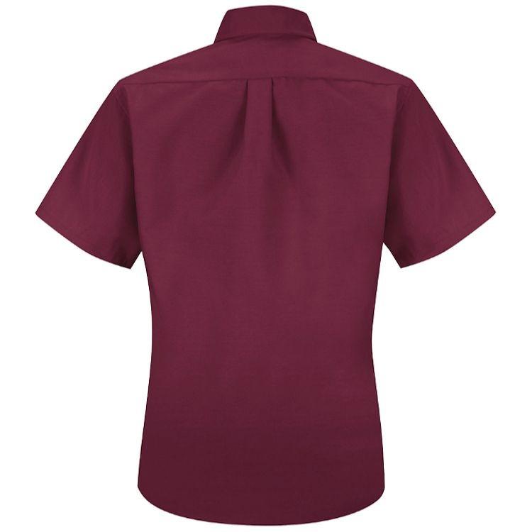 Red Kap Women's Short Sleeve Button-Down Collar Poplin Dress Shirt