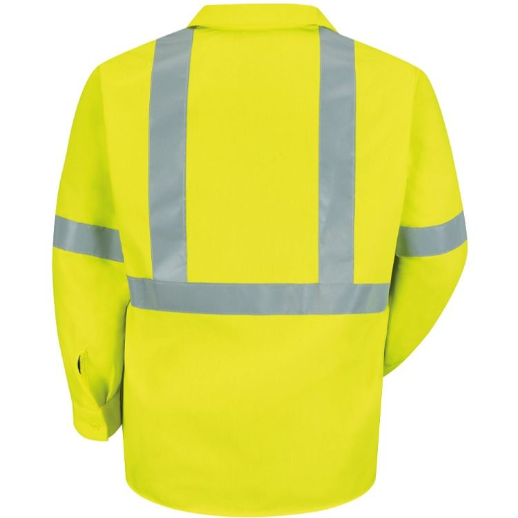 Red Kap Hi-Visibility Class 2 Level 2 Long Sleeve Work Shirt