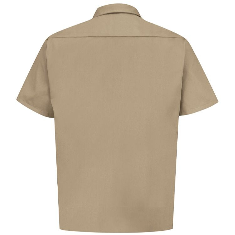 Red Kap Men's Short Sleeve Twill Utility Uniform Shirt