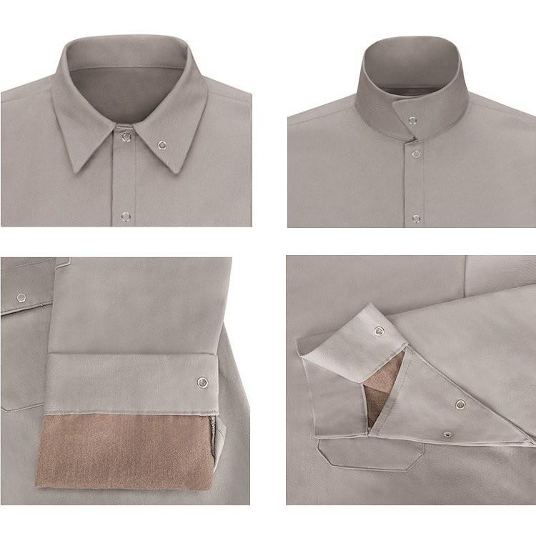 Bulwark Excel FR Long Sleeve Welding Shirt w/Tuffweld- 7/8.5 oz. HRC1