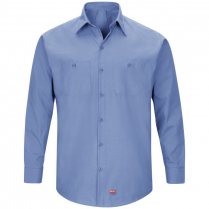 Red Kap Men's Long Sleeve Mimix Workshirt