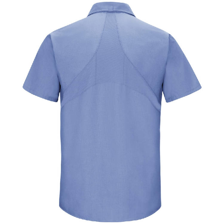 Red Kap Men's Short Sleeve Mimix Workshirt