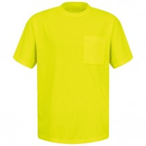 Red Kap Enhanced Visibility SS T-Shirt w/o Reflective Striping