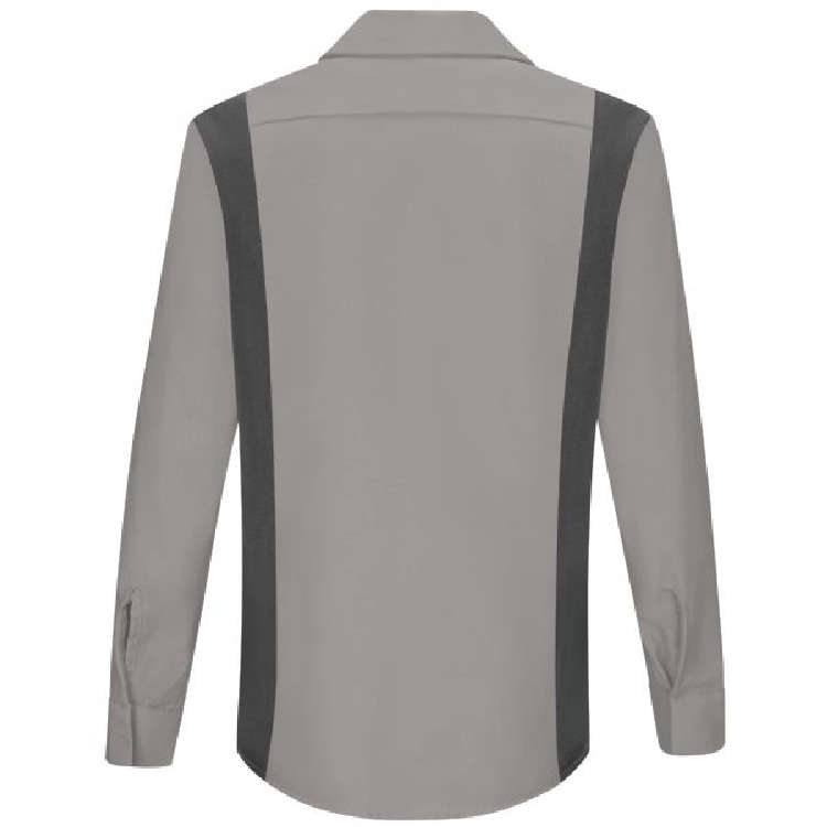 Red Kap Women's Long Sleeve Performance Plus Shop Shirt with OILBLOK Technology