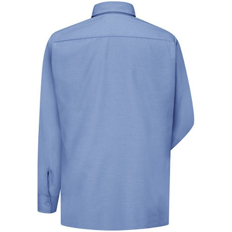 Red Kap Men's Solid Ripstop Long Sleeve Shirt
