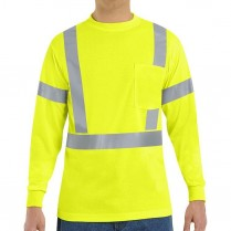 Red Kap Hi-Visibility Class 2 Level 2 Long Sleeve T-Shirt