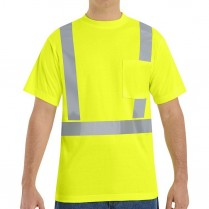 Red Kap Hi-Visibility Class 2 Level 2 Short Sleeve T-Shirt