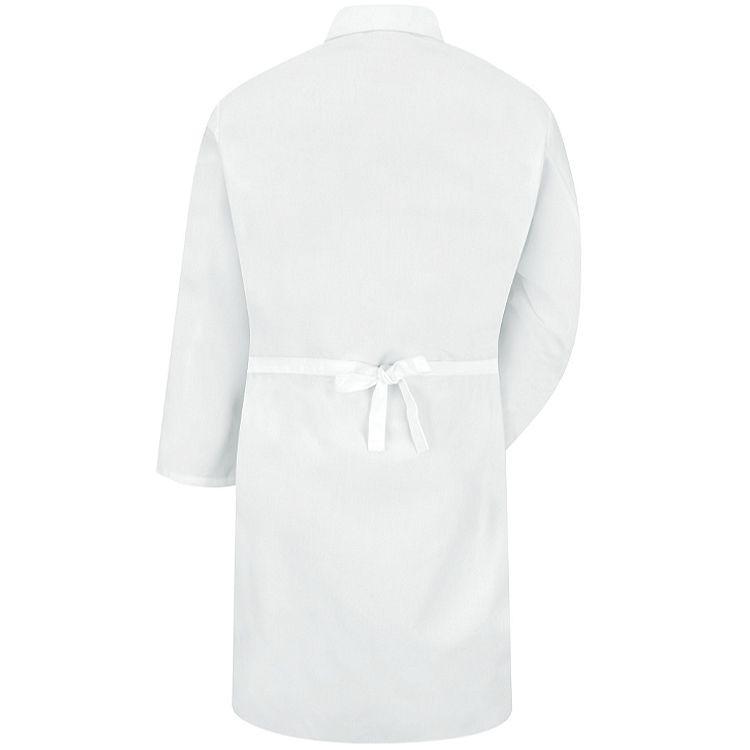 Red Kap Butcher Wrap w/Collar & Pockets - 100% Polyester