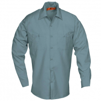 Reed SoftTouch Poplin Industrial Solid Work Long Sleeve Shirt