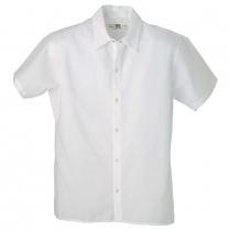 Reed 100% Spun Poly No Pocket Cook Short Sleeve Shirt