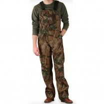 Round House Men's Camouflage Bib Overall