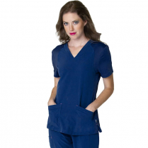 Smitten Women's Miracle Solid Scrub Top