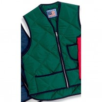 Snap 'n' Wear Quilted Nylon Vest with Kidney Flap