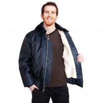 Snap 'n' Wear Sherpa Lined Bomber Jacket