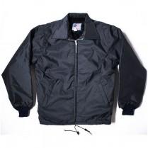 Snap 'n' Wear Pile-Lined Windbreaker with Zipper Front & Knit Cuffs