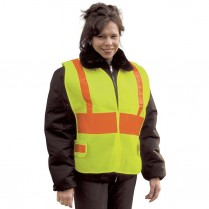 Snap 'n' Wear Safety Vest with Adjustable Velcro Tabs at Sides