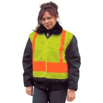 Snap 'n' Wear Safety Vest with Adjustable Snap Closure at Front & Sides