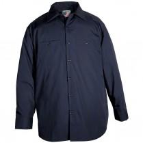 Snap 'n' Wear Long Sleeve Work Shirt - Imported