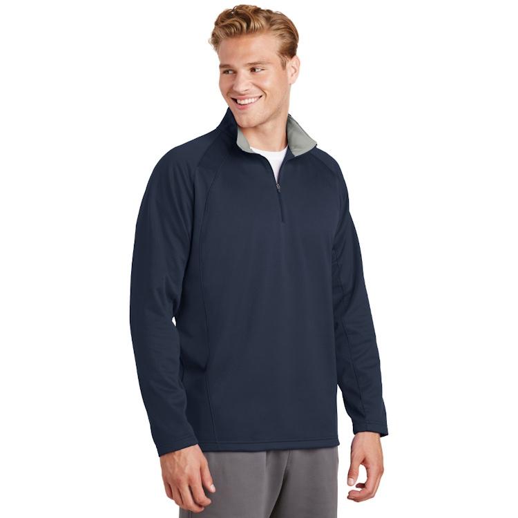 Sport-Tek® Sport-Wick® Fleece 1/4-Zip Pullover