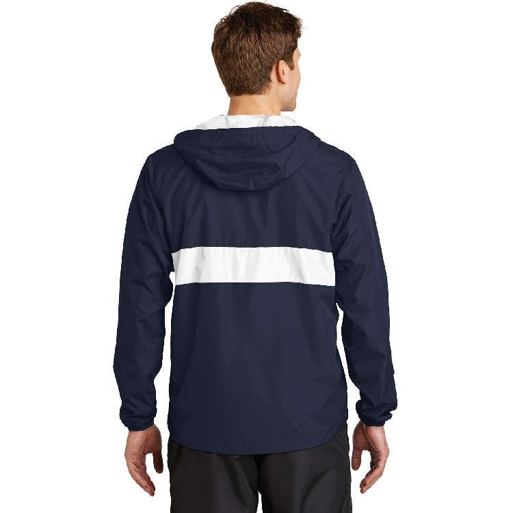 Sport-Tek® Zipped Pocket Anorak