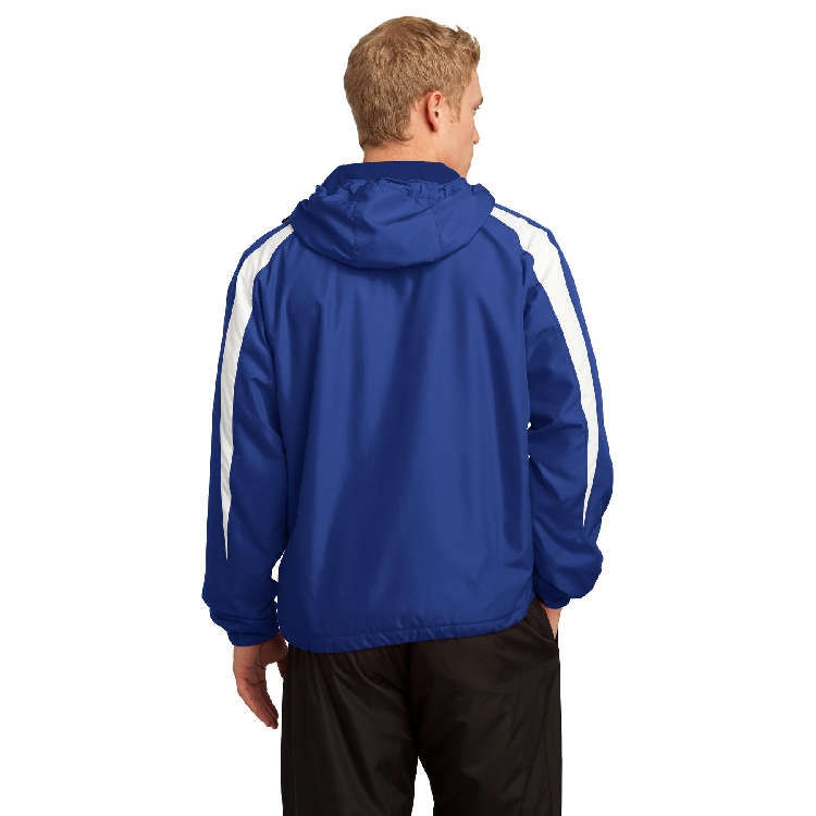 Sport-Tek® Fleece-Lined Colorblock Jacket