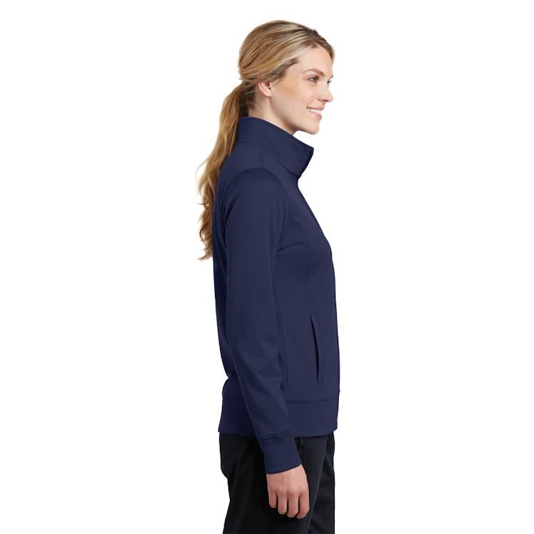 Sport-Tek® Ladies' Sport-Wick® Fleece Full-Zip Jacket