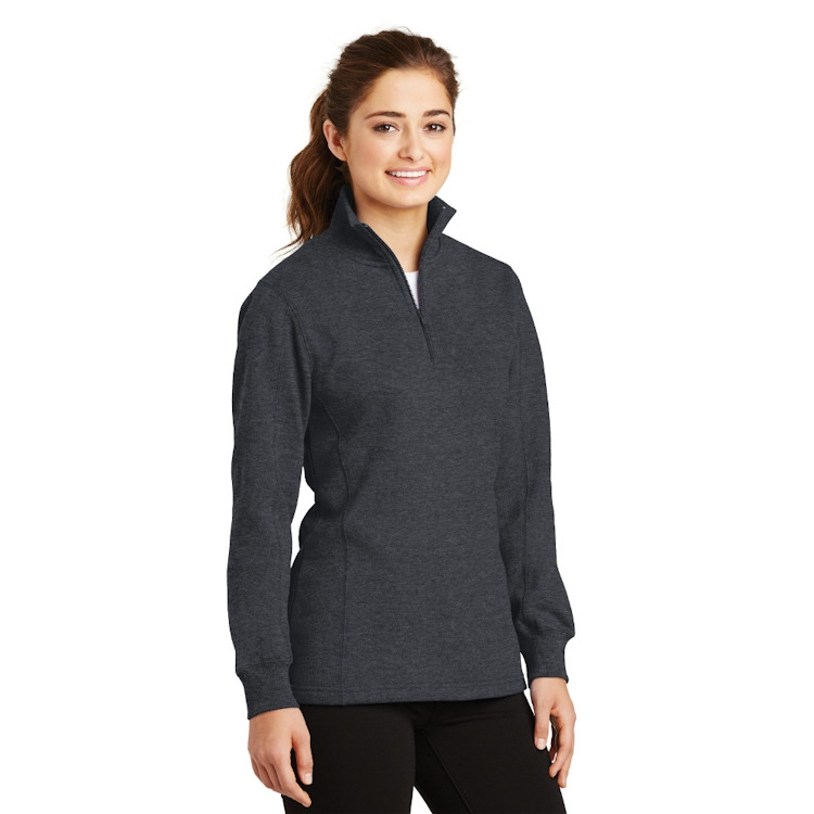 Sport-Tek® Ladies' 1/4-Zip Sweatshirt