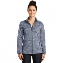 Sport-Tek® Ladies' PosiCharge® Electric Heather Soft Shell Jacket