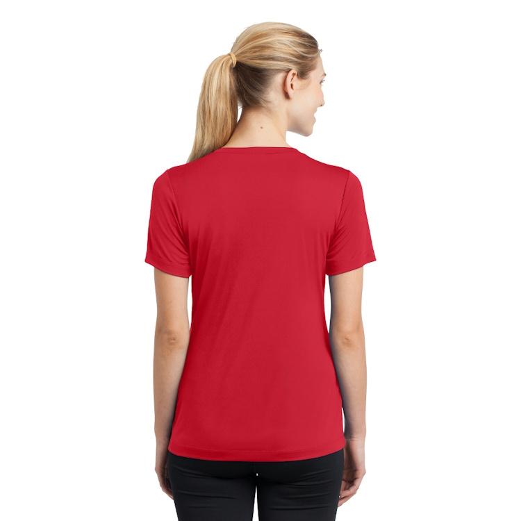 Sport-Tek® Ladies' PosiCharge® Competitor™ V-Neck Tee