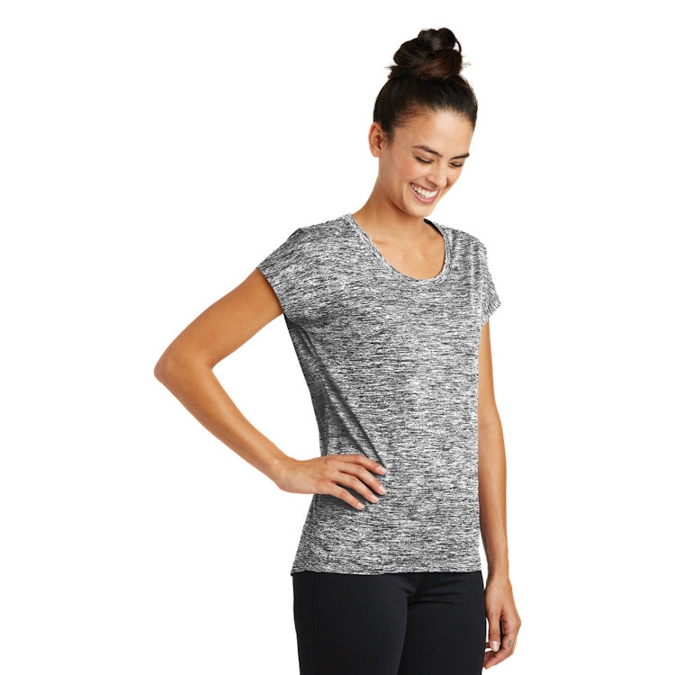 Sport-Tek® Ladies' PosiCharge ® Electric Heather Sporty Tee