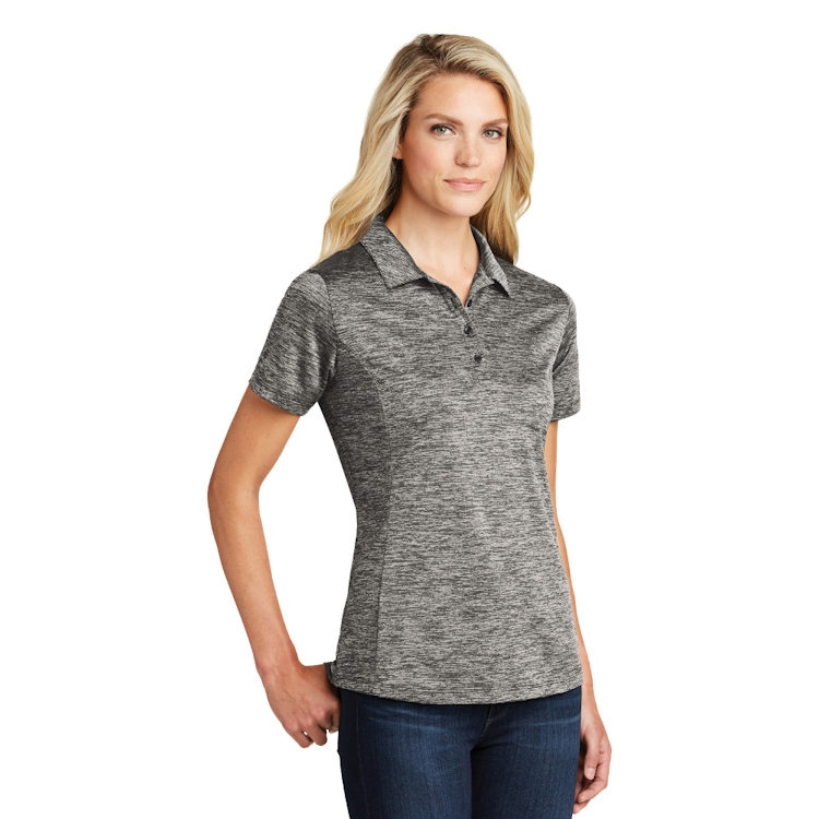Sport-Tek® Ladies' PosiCharge® Electric Heather Polo