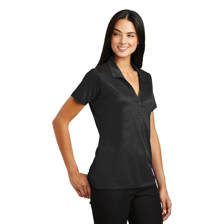 Sport-Tek® Ladies' Embossed PosiCharge® Tough Polo