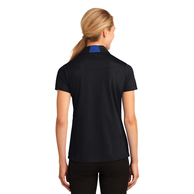 Sport-Tek® Ladies' Side Blocked Micropique Sport-Wick® Polo
