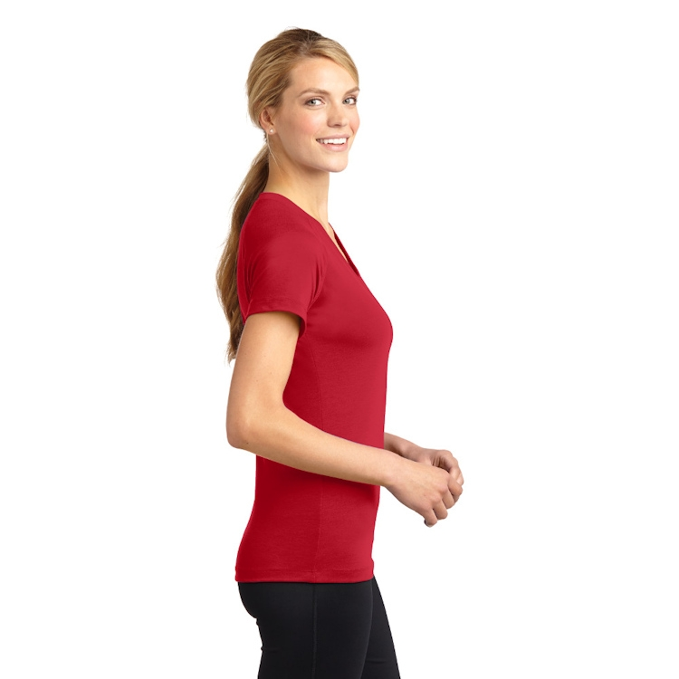 Sport-Tek® Ladies' Ultimate Performance V-Neck