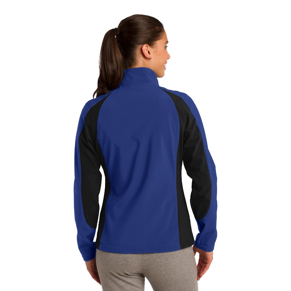 Sport-Tek® Ladies' Colorblock Soft Shell Jacket