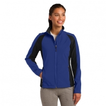 Sport-Tek® Ladies' Colorblock Soft Shell Jacket