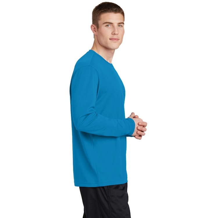 Sport-Tek® PosiCharge® RacerMesh® Long Sleeve Tee