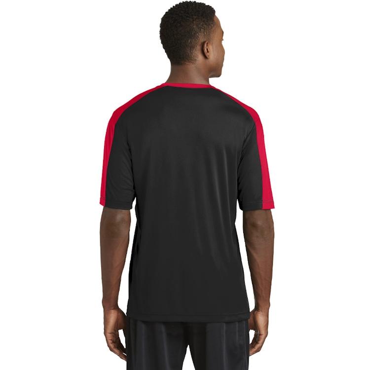 Sport-Tek®  PosiCharge® Competitor™ Sleeve-Blocked V-Neck Tee