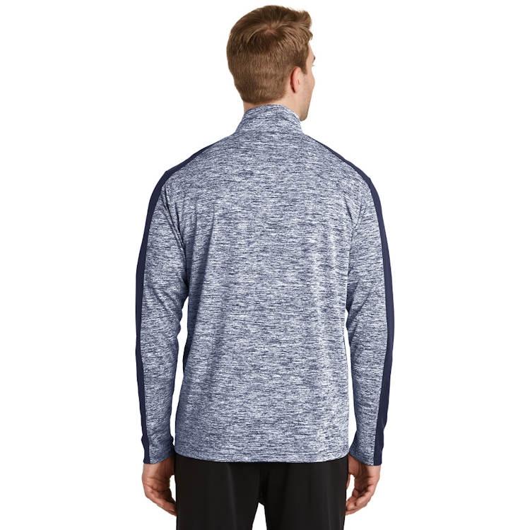 Sport-Tek® PosiCharge® Electric Heather Colorblock 1/4-Zip Pullover