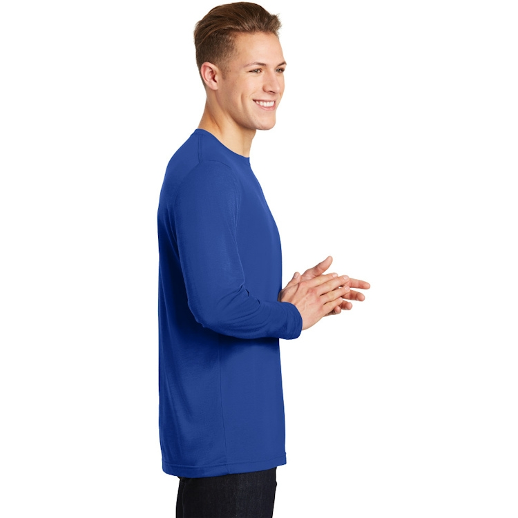Sport-Tek® Long Sleeve PosiCharge® Competitor™ Cotton Touch™ Tee