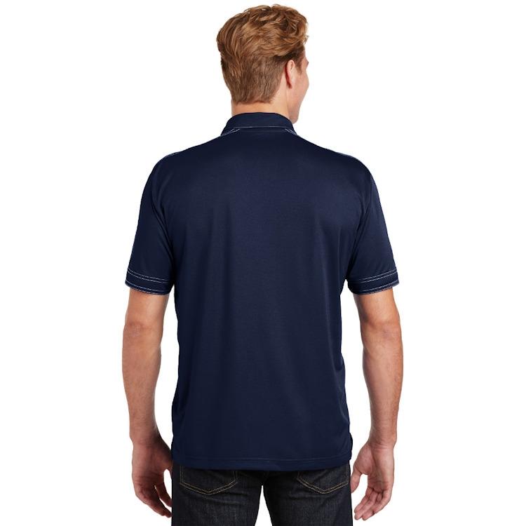 Sport-Tek® Contrast Stitch Micropique Sport-Wick® Polo