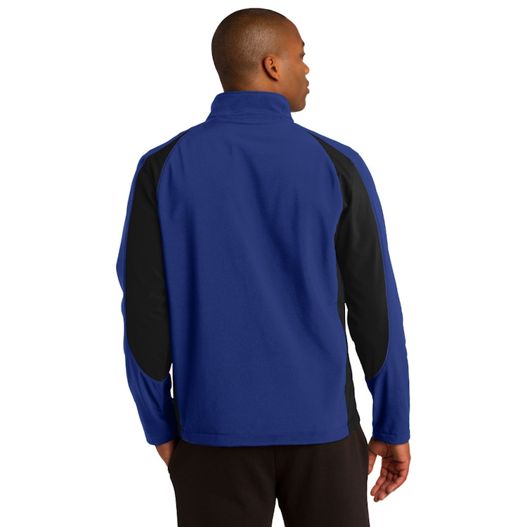 Sport-Tek® Colorblock Soft Shell Jacket