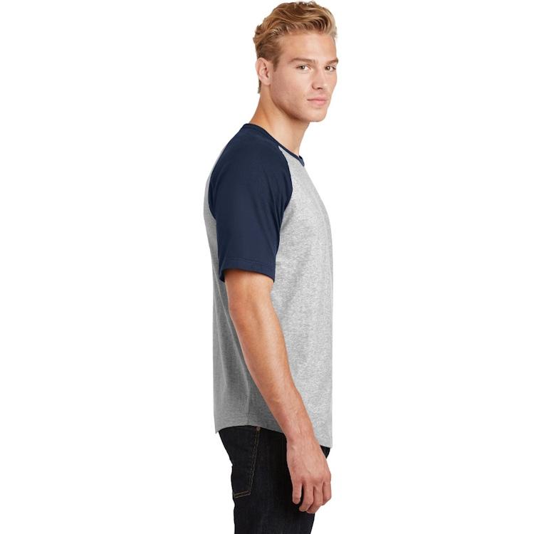 Sport-Tek® Short Sleeve Colorblock Raglan Jersey