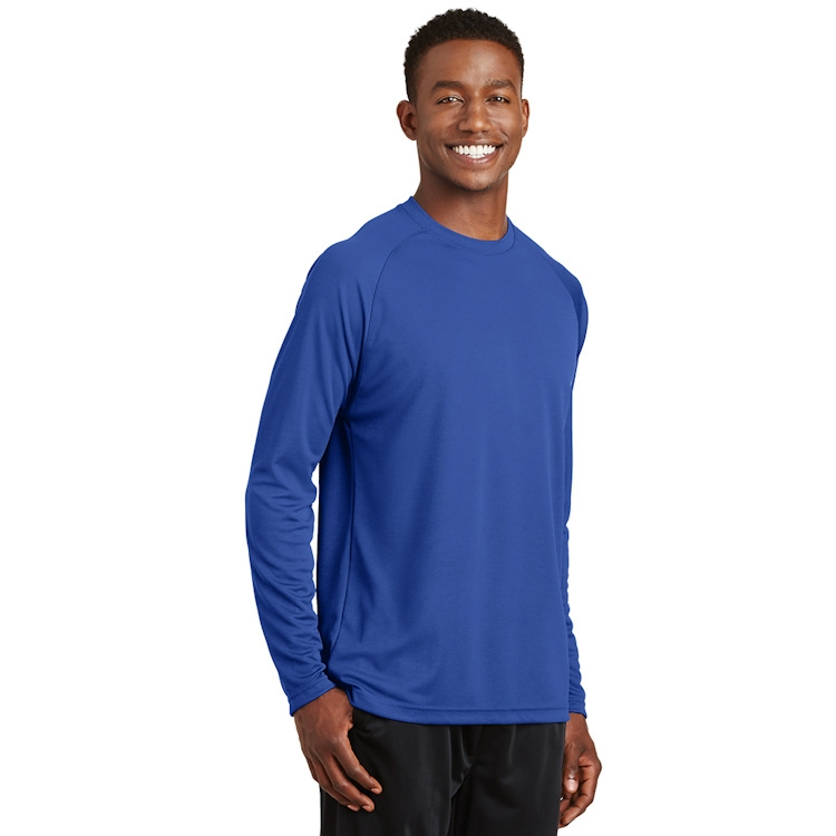 Sport-Tek® Dry Zone® Long Sleeve Raglan T-Shirt