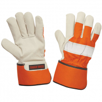 Tough Duck 3M™ Thinsulate™ Insulation Lined Full Grain Hi-Vis Fitters Glove